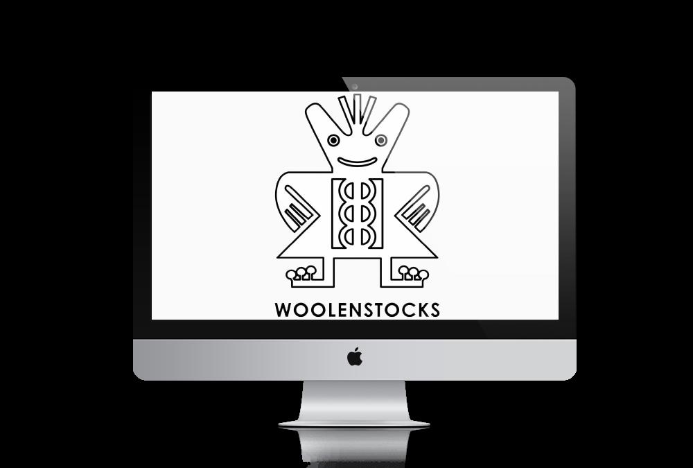 تصميم شعار WOOLENSTOCKS